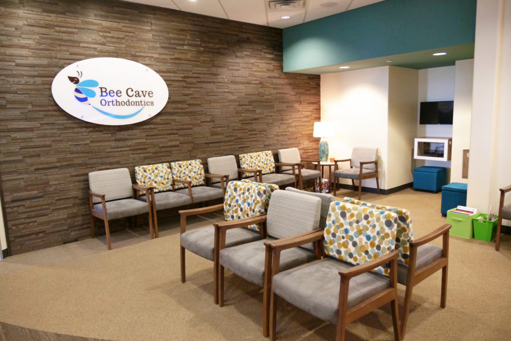 Bee Cave Orthodontics waiting room