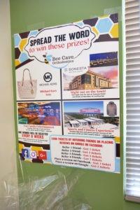 bee cave orthodontics referral prizes
