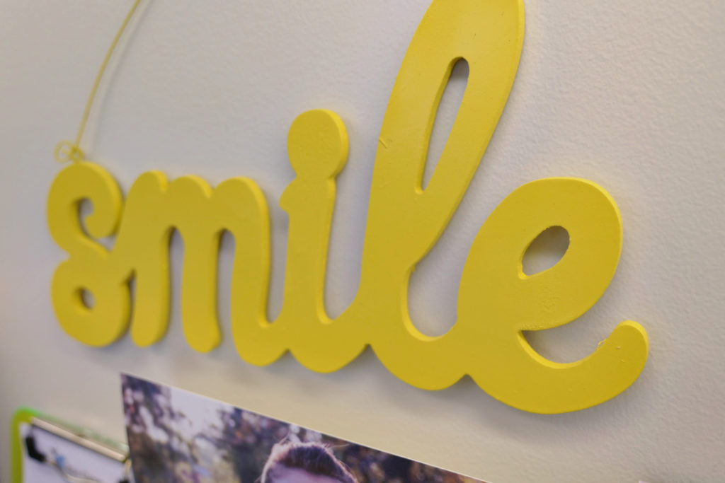 bee cave orthodontics smile sign