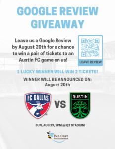 Free Austin FC Tickets